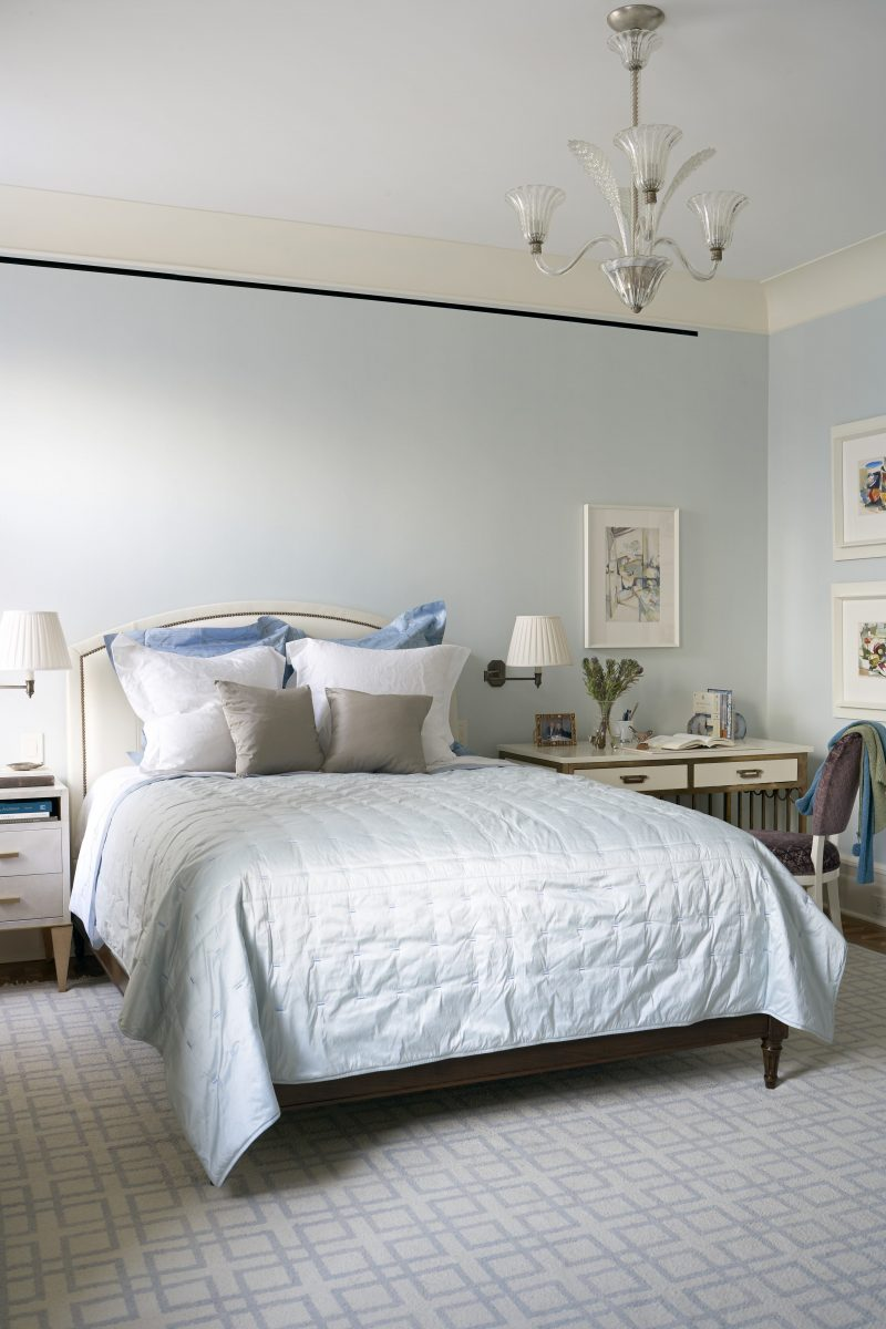 Blue Bedroom Design Better Sleep Barry Goralnick Architect