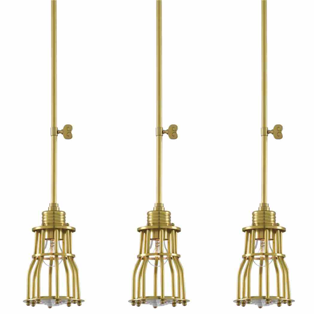 Davy Pendant by Barry Goralnick Currey Lighting Industrical Chic