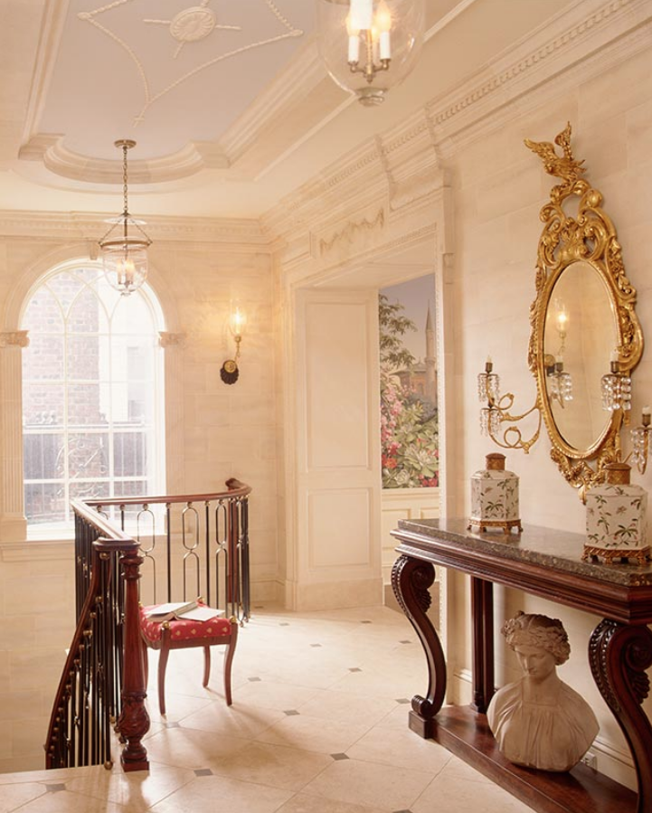 FIfth Avenue Duplex Foyer Barry Goralnick Architect