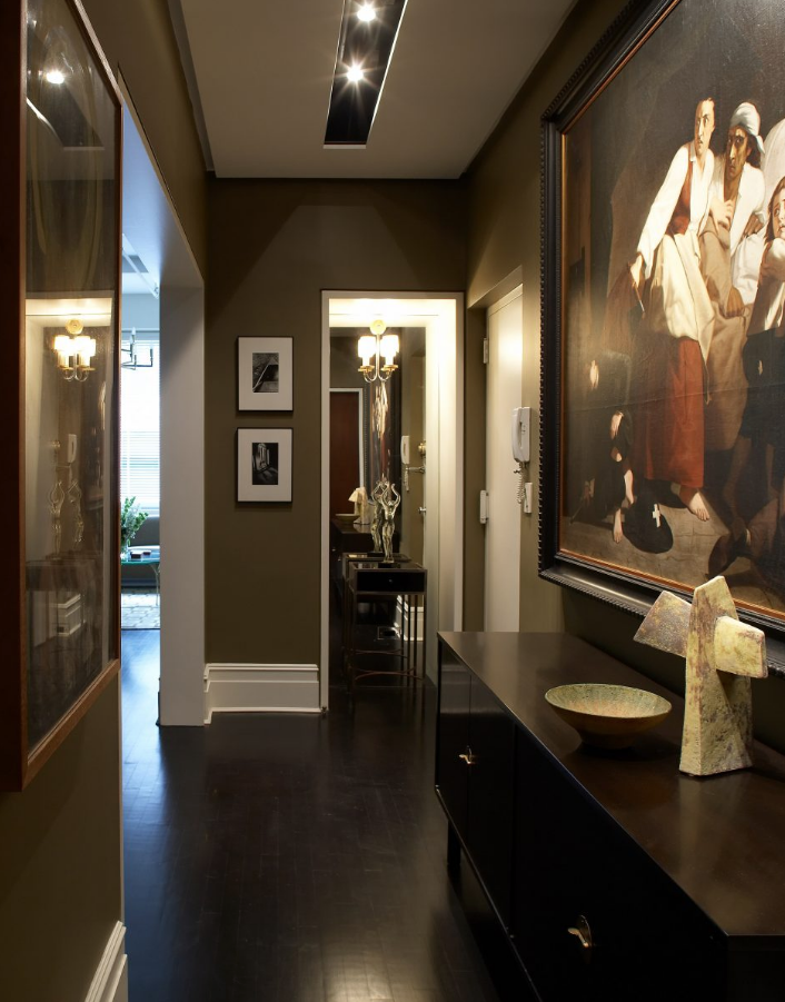 Industrial Chic Loft Foyer Barry Goralnick Architect